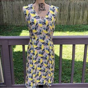 J Crew floral dress - like new!